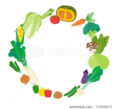 矢量 蔬菜 食品 71850071