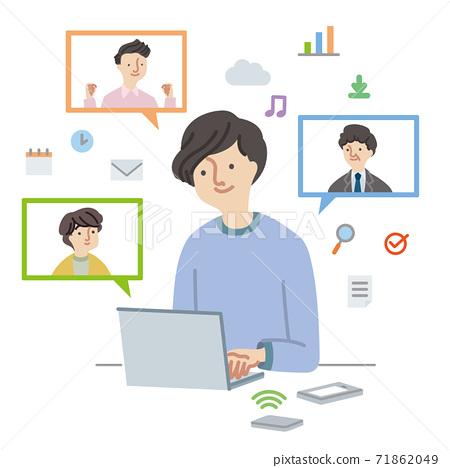 業務:一位喜歡遠程辦公的商人(無主線) 71862049