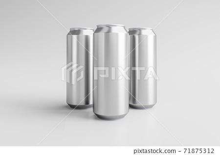 鋁啤酒飲料罐容器模型 71875312