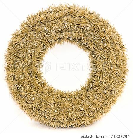 Festive wreath 71882794