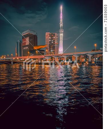 Sumidagawa和東京天空樹 71889003