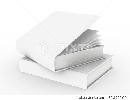 3d rendering hardcover book mockup 71892103