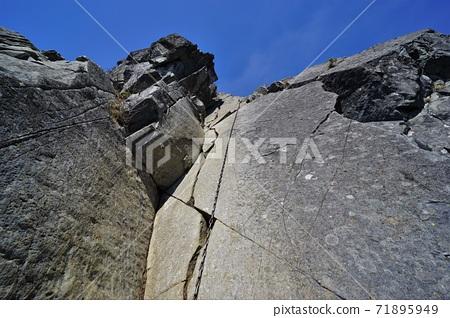 乾徳山의 鳳岩 사슬 공간 71895949