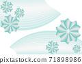 꽃 프레임, 일본식 이미지 소재 71898986