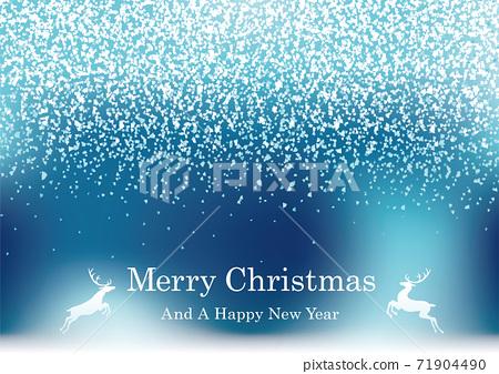 聖誕節的閃閃發光的背景圖 71904490