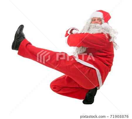Dancing Santa Claus 71908876