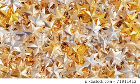 許多星星的3D渲染 71911412