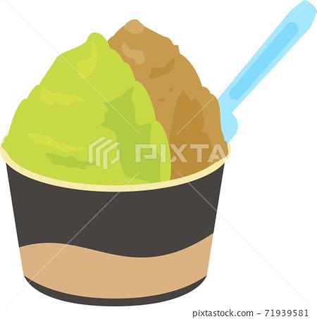 一杯冰淇淋 71939581