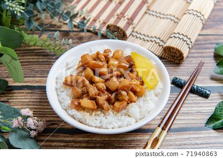中國肉飯,簡單的背景,情緒,台灣小攤,台灣美食,肉 71940863
