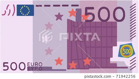 500 euro bill 71942256
