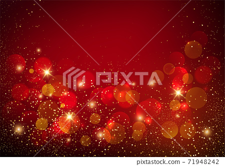 Holiday Abstract shiny color gold design element 71948242