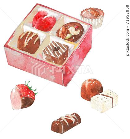 巧克力盒 71952969