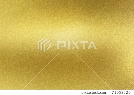 Gold foil glitter metallic wall with copy space, abstract texture background 71958320
