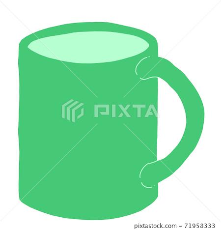 Green mug 71958333