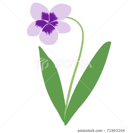 One-wheeled violet 71963204