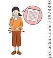 Women who endure menstrual cramps 71978893