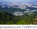 한국 서울시 관악구 과천시 관악산 전경 71980135
