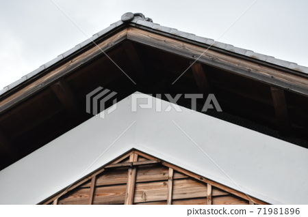 그리운 일본 건축 히사모토 薬医門 공원 가나가와 현 가와사키시 71981896