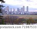 從玉川台公園看的武藏小杉塔公寓 71987533