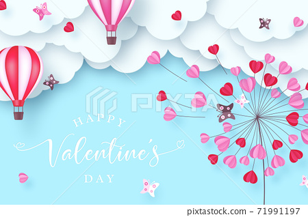 Valentines day background. 71991197