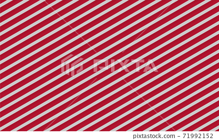 White and red background with a pattern of diagonal lines. New Year festive background for decoration. Texture christmas concept vector illustration 71992152