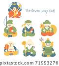 七個幸運的神 71993276
