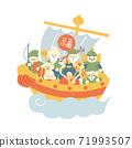 船上的七個幸運神社 71993507