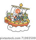 船上的七個幸運神社 71993509