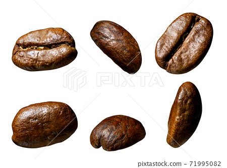 set of coffee beans 71995082
