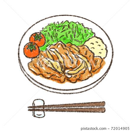 烤姜 72014905