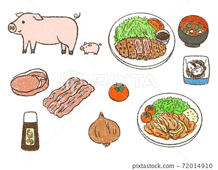 Pig meat set 72014910