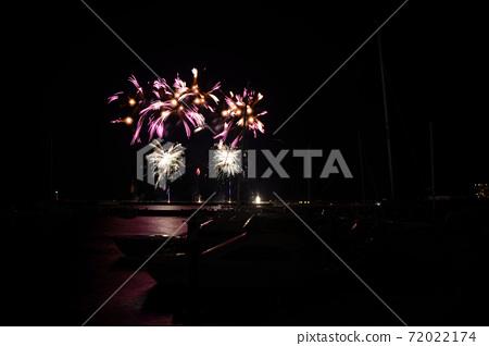 Atami venue fireworks display held in October 72022174