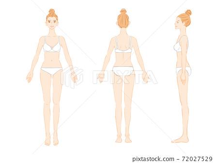 Female full-body underwear 72027529