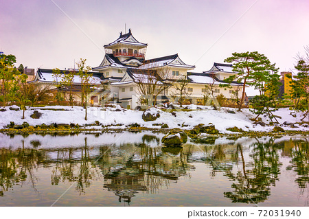 Toyama, Japan at Toyama Castle 72031940