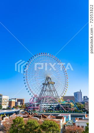 [神奈川縣]清新的藍天和橫濱宇宙世界 72053822