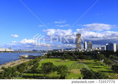 首爾永登浦區漢江漢江市民公園 72057770
