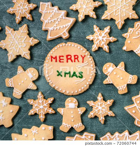 聖誕節 餅乾 口罩 Christmas gingerbread cookie ジンジャークッキー 72060744