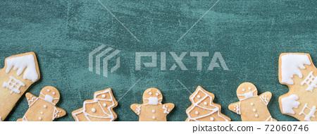 聖誕節 餅乾 口罩 Christmas gingerbread cookie ジンジャークッキー 72060746