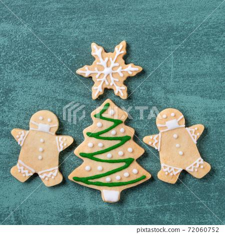 聖誕節 餅乾 口罩 Christmas gingerbread cookie ジンジャークッキー 72060752