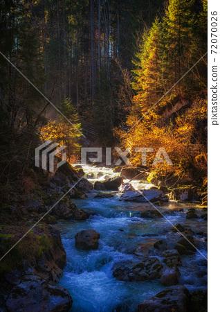 Ramsauer Ache near Ramsau - Berchtesgaden 72070026