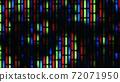 Macro shot of TV LCD matrix 72071950