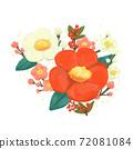 정월의 꽃 (동백 매화 복용량) 72081084