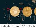 虛擬貨幣比特幣副本 72083532