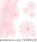 부드러운 핑크 꽃 배경 72088136