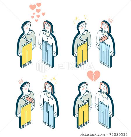 同性浪漫插圖集 72089532