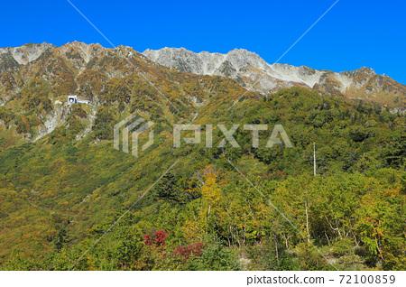 Tateyama Ropeway in Autumn Leaves Tateyama Kurobe Alpine Route 72100859