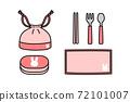 午餐和午餐的商品 72101007