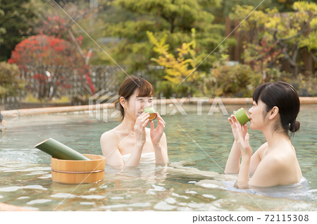 Hot spring image goto travel campaign 72115308