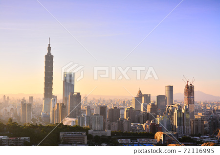 台北101夕陽 72116995