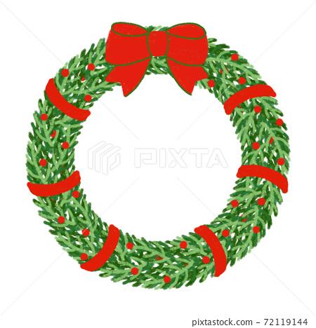 聖誕花環,聖誕節 72119144